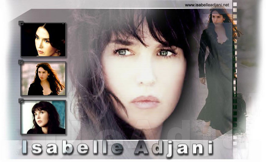 SITE OFFICIEL ISABELLE ADJANI - ISABELLE ADJANI OFFICIAL WEBSITE
